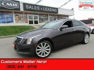 2014 Cadillac ATS 2.0 Turbo Luxury  AWD, NAV, ROOF, CAMERA!