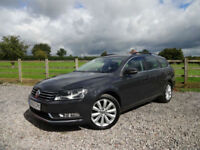 2013/63 Volkswagen Passat 2.0TDI ( 140ps ) BlueMotion Tech Highline Estate