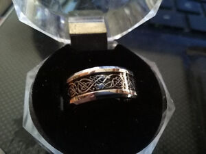 Celtic Dragon Ring size 7, 8 and 9