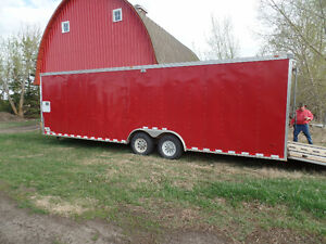 30 foot, Toy hauler / with sleeping room