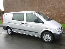 2007 Mercedes-Benz VITO 115 CDI LONG DUALLINER COMBI Van *AUTO* Automatic Combi