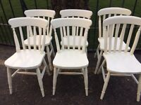 FARMHOUSE KITCHEN DINING CHAIRS