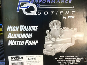 SBC Aluminum Water Pump (NEW) Short-Style Prince George British Columbia image 4
