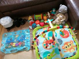 Boys baby items