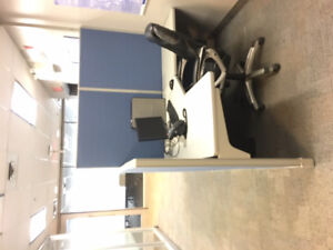 Haworth partitions workstations