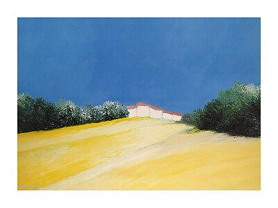 Bernard Payet Tuscany Poster Kunstdruck Bild 60x80cm
