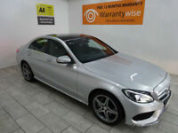 2015,Mercedes-Benz C250 2.1CDI 204bhp Auto AMG***BUY FOR ONLY £96 PER WEEK***