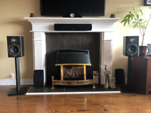 Bowers and Wilkins DM303 bookshelf speakers for sale