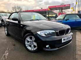 2013 BMW 120d SE Convertible **Cheap Tax - 50MPG - Service History**