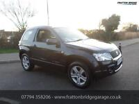 SUZUKI GRAND VITARA VVT PLUS 4x4 Full Service History Great Car, Black, Manual,