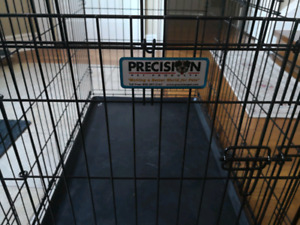 Double doors dog cage for sale