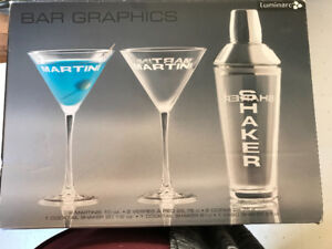 Martini Shaker with 2 Glasses