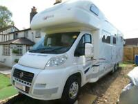 Frankia 840 BD Luxury 6 Berth Fixed Bed Motorhome For Sale