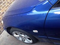 Lexus is200 wing blue 8n8 passenger near side 98-05 breaking spares can post is 200 is300 sportcross