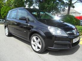Vauxhalll Zafira 1.9 CDTi DIESEL 2007 7 SEATER COMPLETE WITH M.O.T HPI CLEAR