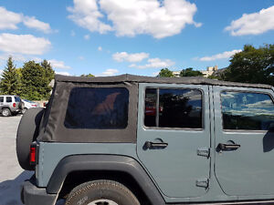 Jeep Wrangler Unlimited OEM Soft Top London Ontario image 1
