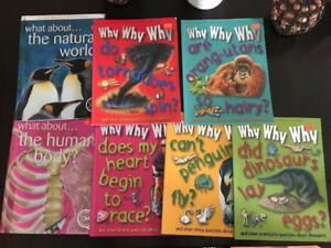 "Children's Books about ""Why"""