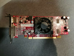 ATI Radeon HD7350 Low Profile Display Port /DVI