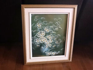 Oil Painting - Daisies