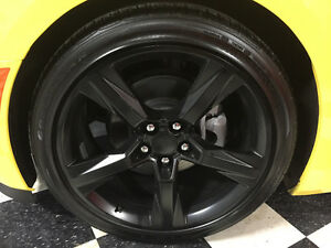 2016 Camaro RS Black Factory Wheels