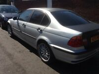 Bmw 318i w Reg manual alloys good runner leather seats £280