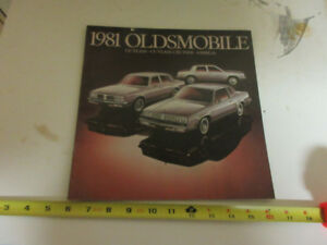 1981 OLDSMOBILE BROCHURE CUTLASS-CRUISER-OMEGA