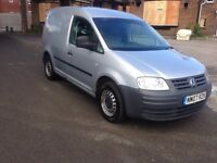 2007 07reg Volkswagen Caddy Van 1.9 Tdi Silver Mot March Side Door