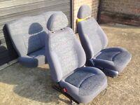Daewoo matiz car seats