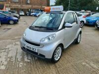 2008 smart fortwo 1.0 Passion Cabriolet 2dr Convertible Petrol Automatic