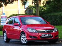 Vauxhall Astra 1.6 Petrol 5 Door 16v 2007 SXi..CAMBELT DONE + 7 SERVICE STAMPS