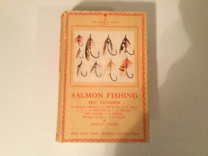 """Salmon Fishing"" by Eric Taverner 1948 Hardcover"