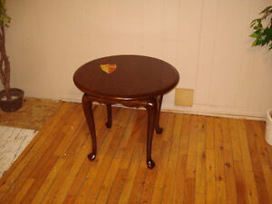 """""""Solid Cherry"""" Lamp Table"""