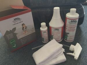 UV3 Furniture Care Kit. Cleaner, spray