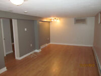 1 Bedroom Basement Apt Oct 15/Nov 1 - All Inclusive pet friendly