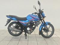 2016 KEEWAY RK 125 MOTORCYCLE IN METALLIC BLUE