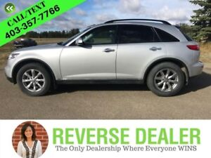 2008 INFINITI FX35   Navigation, Rear DVD, Leather