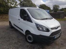 2014 Ford Transit Custom 2.2TDCi ( 100PS ) ECOnetic 290 L1H2 WHITE DIESEL MANUAL