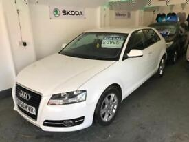 2010 60 AUDI A3 1.4 TFSI SE 3 DR IBIS WHITE WITH FULL BLACK LEATHER