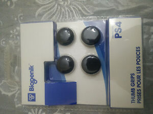 PS4 CONTROLLER THUMB GRIPS (4) BRAND NEW NEVER OPENED