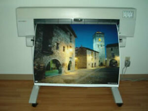 HP Designjet 450C Color Plotter C4715A with WARRANTY