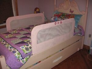 Bed Rail Pink Double Bedrail
