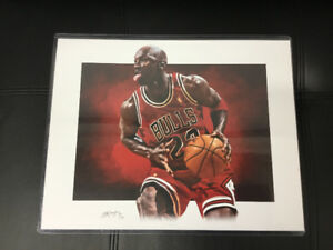 Michael Jordan Limited Edition Print - 01 of Only 10