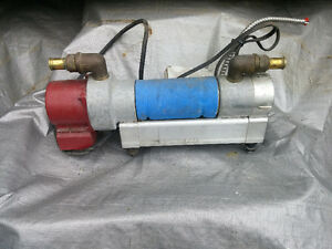 Chauffe moteur avec pompe de recirculation