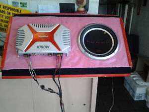 Sony Xplod Amplifier and punch Speaker