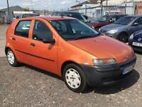2002/02 Fiat Punto 1.2 FULL MOT EXCELLENT RUNNER