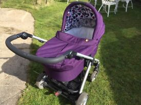 Mamas and Papas push chair and carrycot