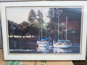 "Kiff Holland Large Framed Print ""Morning Glow"" $150 - Salmon Arm"