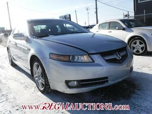 2007 ACURA TL BASE 4D SEDAN BASE