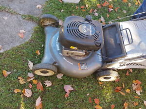 "6hp 21"" craftsman lawn mower w/mulch bag"