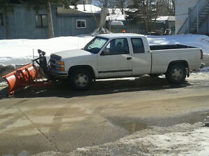 Snow Plow and Blowing Midland Penitang Port 705-528-7237
